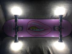 Skateboard Light, Table Lamp, Lighting, Home Decor, Table Lamps, Decoration Home, Room Decor, Lights, Home Interior Design