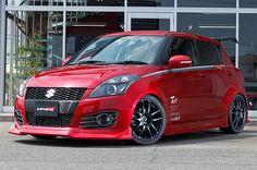 Suzuki Swift Tuning, Suzuki Swift Sport, Suzuki Cars, Kei Car, Royal Enfield Bullet, Grand Vitara, Subaru Forester, Modified Cars, Car Show
