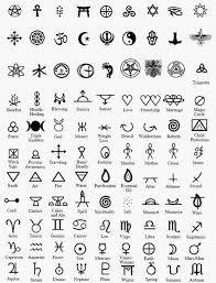 Resultado de imagen de simbolos simples formas geometricas tattoo