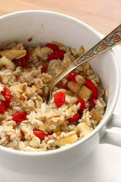Lose weight with creative oatmeal combos!