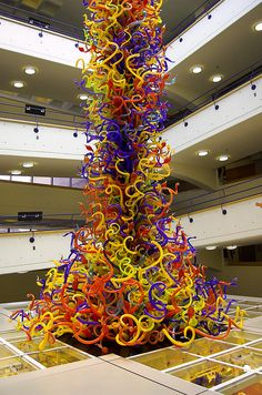 Fireworks of Glass, Indianapolis Children's Museum, Indianapolis, Indiana by Dale Chihuly