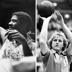 #Onthisday 1979: #MagicJohnson and the #Spartans took down #LarryBird and #IndianaState. It wouldn't be the last time the two legends would go head-to-head.  Images from the SPORT collection #basketball #collegebasketball #hoops #MSU #sportshistory #fineartphotography #photo #art #prints #sportsphotography