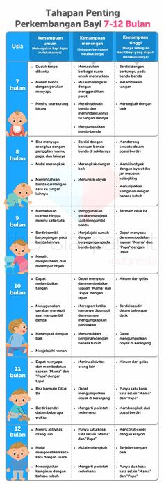 Tahapan Perkembangan (Milestone) Bayi 0-12 Bulan dalam Tabel | Page: 2