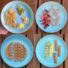 8 Month Old Baby Self-Feeding - Pinecones & Pacifiers 9 Month Old Baby Food, Baby Food 8 Months, 8 Month Old Baby, Baby Food Steps, Baby Food Guide, Baby Food Recipes, Baby Breakfast, Breakfast Ideas, Baby Finger Foods