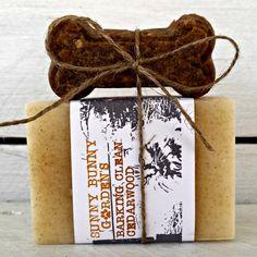 Barking Clean Cedarwood Dog Soap