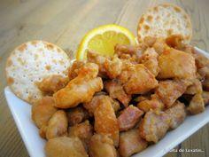 A falta de Lexatín... buenas son tortas: Contramuslos de pollo en adobo de soja y limón