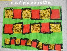 Avec la période des châteaux, vient celle des créneaux.... On peut bien sûr en faire avec des kaplas, en collage, à la peinture., en motricité (chaque enfant représentant un trait) Je vous propose ceux de Virginie des châteaux en dessin avec des moyens...