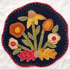 Antique Wool Penny Rugs | ... patterns including wool applique, wool penny rugs and wool quilts