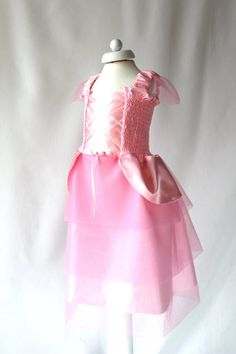 SALE Pink Princess Dress for 1-2 Years