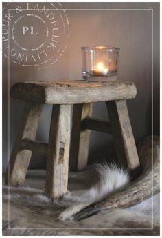 Oude / houten / KINDERKRUKJES | ☆ New Arrivals / Nieuwe collectie ☆ | Puur & Landelijk Living