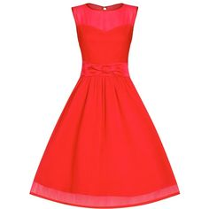 'Candy' Red Formal Prom Party Dress ($65) ❤ liked on Polyvore featuring dresses, red, circle skirt, red sweetheart dress, skater skirt, red skater skirt and red cocktail dress