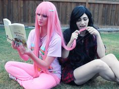 Awesome Marceline and Bubblegum cosplay - Album on Imgur