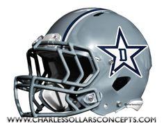 Charles Sollars Concepts @Charles Sollars @Charles Sollars http://www.charlessollarsconcepts.com/dallas-cowboys-grey-helmet-concepts/ #cowboys #dallas #NFL #nike