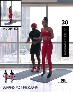 Hiit Workout Videos, Fitness Workouts, Hiit Workouts With Weights, Hiit Workouts For Beginners, Full Body Hiit Workout, Hiit Workout At Home, Fitness Workout For Women, Sport Fitness, Gym Workout Tips