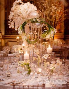 photographer: Brian Dorsey Studios; ballroom wedding reception idea