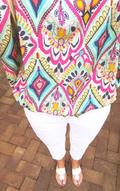 Lilly Pulitzer...I love this pattern!