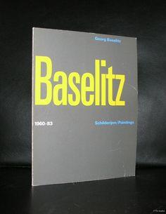 Stedelijk Museum# GEORG BASELITZ # Crouwel, 1984, nm