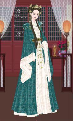 Jang Nara, Asian Artwork, Empress Ki, Korean Hanbok, Court Dresses, Chinese Clothing, Hanfu, Traditional Dresses, New Art