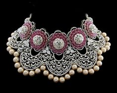 Indian Wedding Jewelry, Indian Jewelry, Bridal Jewelry, Gold Jewelry, Diamond Necklace Set, Dimond Necklace, Ruby Bracelet, Diamond Jewellery, Mumbai