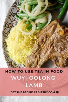 A showstopping dinner dish with subtle oolong tea undertones. Infuse your lamb meat with tea for a unique and delicious flavor. Check out the recipe at sipsby.com! #wuyi #oolong #tea #lamb #dinner #recipes #sipsby Lamb Dinner, Healthy Thanksgiving Recipes, Tea Benefits, Oolong Tea, Delicious Dinner Recipes, Dinner Dishes, Tea Recipes, Original Recipe, Clean Eating Recipes