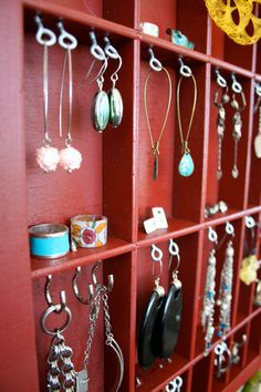 idea for jewelry display