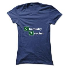 Chemistry Teacher Breaking Bad T Shirts, Hoodies, Sweatshirts. CHECK PRICE ==► https://www.sunfrog.com/Automotive/Chemistry-Teacher-Breaking-Bad-qcyrscqptn-Ladies.html?41382