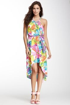 Kaleidoscope Hi-Lo Dress by Trina Turk on @HauteLook. Love the bright colors on this.