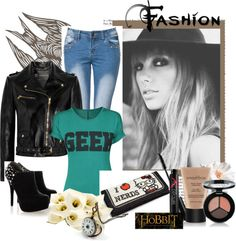 """Geek"" by flop-1 on Polyvore"