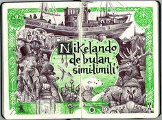 de vuelta con el cuaderno: Cuader-nonsense 14 NIKELANDO DE BULAN SIMI-LIMILÍ