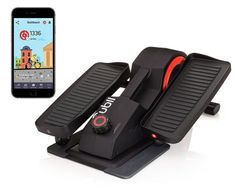 Cubii Pro Under Desk Elliptical, Bluetooth Enabled, Sync w/ FitBit and HealthKit, Adjustable Resistance, Easy Assembly
