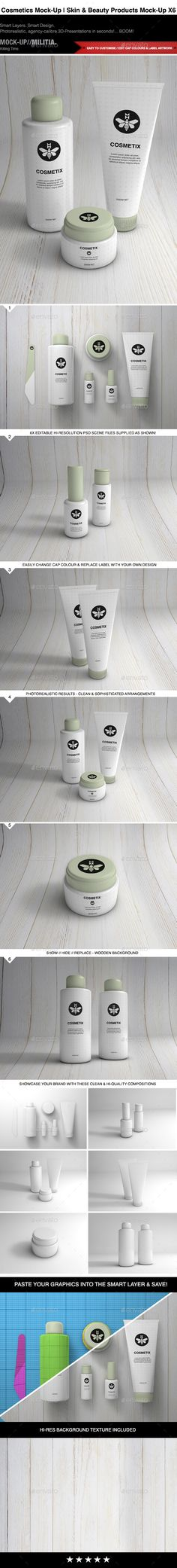 Cosmetics Mock-Up | Toiletries & Make Up Mock-Up | Download: http://graphicriver.net/item/cosmetics-mockup-toiletries-make-up-mockup/11043438?ref=ksioks