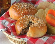 Hamburger Filled Buns