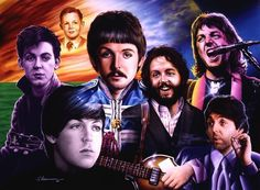 """""""7 faces of Paul"""" by Shannon Macdonald"""