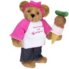 "15"" Bear-foot & Pregnant Bear from Vermont Teddy Bear. $69.99. #MothersDay"