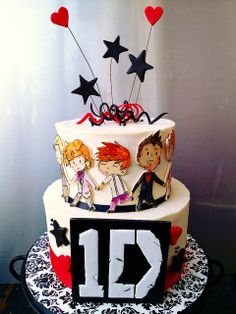 Icing Smiles One Direction Birthday Cake | Flickr - Photo Sharing!