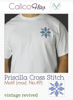 Priscilla Cross Stitch Pattern 49