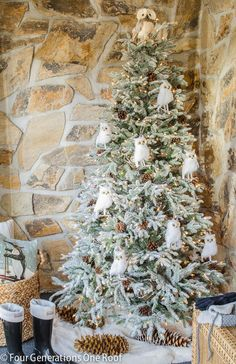 Craftberry Bush: 12 Bloggers of Christmas with Balsam Hill...  How sweet r these owls??? sce