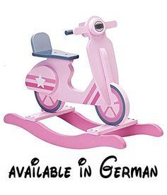 Kids Concept 412893 Schaukelvespa 70x24x53 cm, rosa. 412893 Schaukelspielzeug -Schaukel-Vespa in rosa aus der STAR Kollektion von Kids Concept -bei Wichtelladen.de kaufen #Baby #BABY_PRODUCT