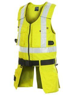 Forever Hi Viz High Visibility Childrens Vest Kids Safety Waistcoat