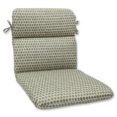 Pillow Perfect Outdoor Seeing Spots Rounded Corner Chair Cushion, Brown Round Chair Cushions, Adirondack Chair Cushions, Outdoor Loveseat, Outdoor Lounge Chair Cushions, Outdoor Chairs, Indoor Outdoor, Comfy Armchair, Corner Chair, Perfect Pillow
