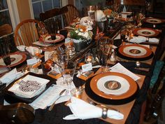 Harley Davidson Tablescape by dining delight, via Flickr