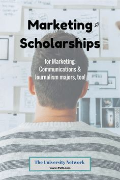 These scholarships are for Marketing majors or revolve around marketing related topics. Some scholarships also welcome students studying communications, public relations, or journalism!