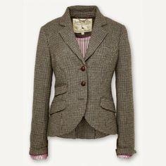 ooh i just love tweed blazers.... ->Austerberry Blazer From Jack Wills