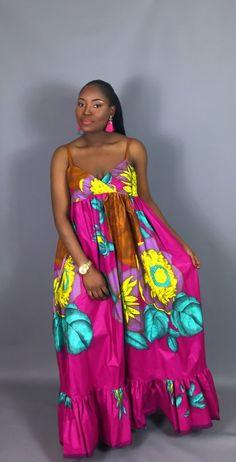 Women Fashion Source by fashion dress Latest African Fashion Dresses, African Dresses For Women, African Print Dresses, African Print Fashion, African Attire, Africa Fashion, African Clothes, Maxi Floral, Moda Afro