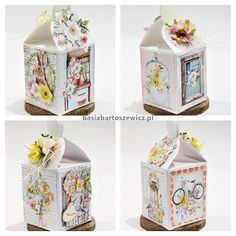 Mintay by Karola papers Exploding Boxes, Decorative Boxes, Home Decor, Paper, Decoration Home, Interior Design, Home Interior Design, Decorative Storage Boxes, Home Improvement