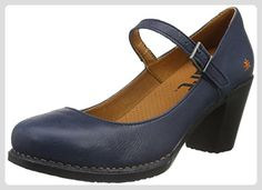 ART Damen Genova Mary Jane Halbschuhe, Blau (Blue), 39 EU - Mary jane halbschuhe (*Partner-Link)