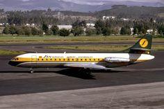 SE 210 VI-R Sud Aviation, Ecuador, Commercial Aircraft, Concorde, Air Travel, South America, Jets, Airplanes, Branding