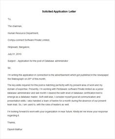 cover letters definition