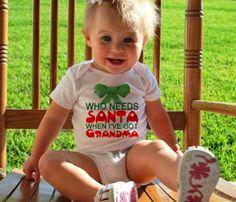 Santa Grandma Kids Attire