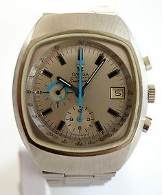 Omega Seamaster Jedi GMT Chronograph Stahl v. 1970